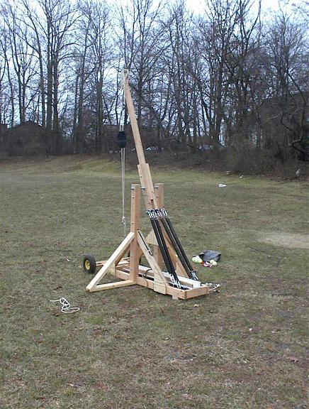 Slinging Org Forum Construction Of A Trebuchet