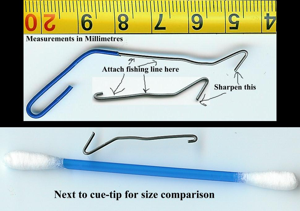how to set up fishing hook and weight